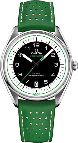 Omega Seamaster Green Olympic Official Timekeeper Limited Edition Herenhorloge 522.32.40.20.01.005