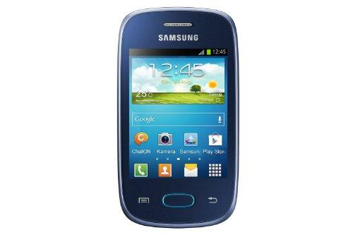 Samsung Galaxy Pocket Neo S5310 Smartphone (7,6 cm (3 Zoll) Touchscreen, 850MHz, 512MB RAM, 2 Megapixel Kamera, Android 4.1) blau/schwarz