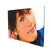2021フレームレス装飾絵画(30x40cm)三浦春馬/みうらはるま Miura Harumaモダンファッションキャンバスポスターインテリアアート風景壁画背景壁装飾