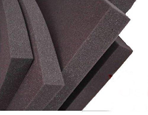 Glatt Schaumstoff SELBSTKLEBEND FOLIE Dämmung Schallschutz Flammhemen- MVSS302d akustik (Mit Selbstklebend, 5 cm)