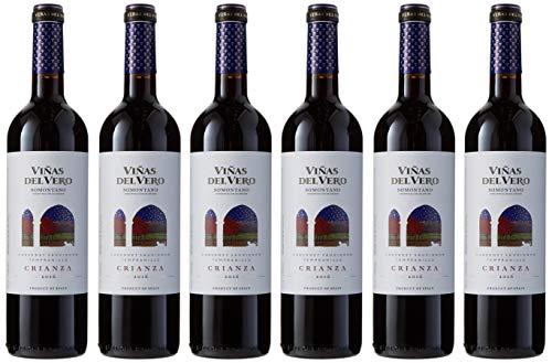 Viñas Del Vero Crianza - Vino D.O. Somontano - 6 Paquetes de 750 ml - Total: 4500 ml