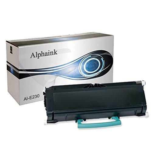 Toner Alphaink Compatibile con Lexmark LEX-E230 versione da 6000 copie per stampanti Lexmark E230 E232 E238 E240 E330 E332 E342