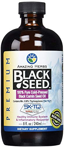 Amazing Herb Black Seed Cold-Pressed Oil (Pack - 3)