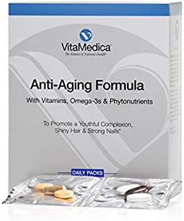 Vitamedica Anti-Aging Supplement Supports Energy, Bone Health, and Glowing Skin, Hair, and Nails- Contains Vitamin A, C, D...