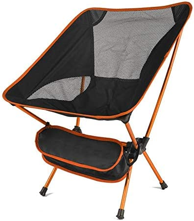 Portable Camping Chair Compact Folding C Backpacking unisex Quantity limited Ultralight