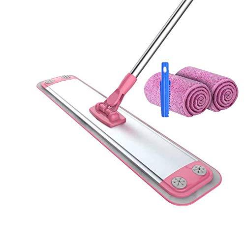 NDYD Trapeador, Reutilizable de la Limpieza de la Limpieza de la Fibra de la Fibra de la Limpieza de la rotación de la Barra telescópica Ajustable del Piso de la Ventana de la Ventana (Color: 3) DSB