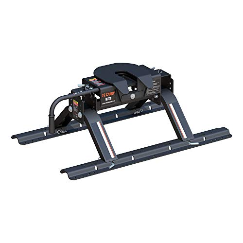 Our #5 Pick is the Curt 16116 E16 5th Wheel Hitch with Base Rails