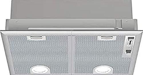 Bosch DHL555BL Serie 4 Lüfterbaustein / C / 53 cm / Silbermetallic / wahlweise Umluft- oder Abluftbetrieb / Schiebeschalter / Intensivstufe / Metallfettfilter (spülmaschinengeeignet)