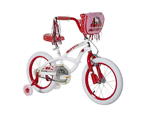 Hello Kitty 16u0022 Bike For Girls with Custom Hello Kitty Graphics by Dynacraft