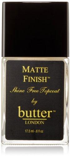 Butter London Matte Finish, Top COAT MAT), 17,5 ml
