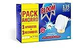 Bloom Insecticida Doble Eficacia Electrico Líquido para mosquitos común y tigre - 3...