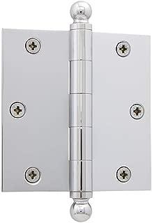 brass door hinges with finials