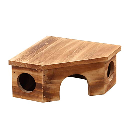 KdjsicSmall Animal Pet Hamster House Bed Summer Cool Gu inea Pig Hedgehog Chinchilla House Jaula Nido Hamste