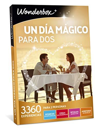 WONDERBOX Caja Regalo día de la Madre - UN Dia MÁGICO para Dos - 3.360 experiencias en España y Europa
