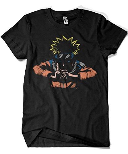 Camisetas La Colmena 1587-Camiseta Naruto - Kage Busin No Jutsu (Legendary P,)