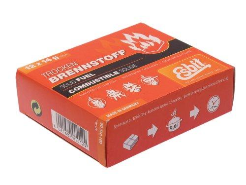 Esbit Trockenbrennstofftabletten, 14 g, 12er Pack