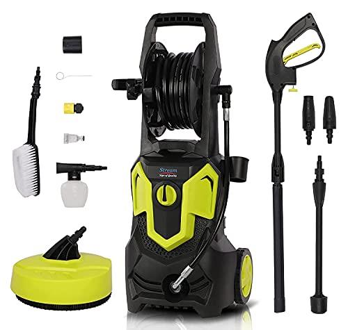 Limpiador de alta presión 1650 W, limpiador eléctrico con kit doméstico, boquilla...