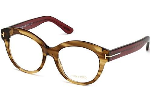 Tom Ford FT5377 C52 048 (shiny dark brown/) Brillengestelle