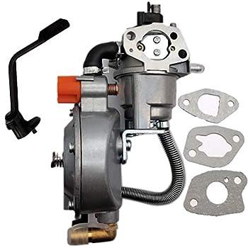 ALLMOST Nature Gas Propane Carburetor Conversion Kit Compatible with Predator Harbor Freight 3200 4000 Watts Gas Generator