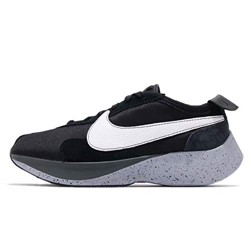 Nike Moon Racer Mens Running Trainers AQ4121 Sneakers Shoes (UK 10 US 11 EU 45, Black White Wolf Grey 001)