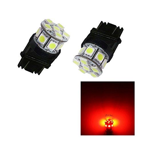 PA 2 x 13smd LED 3157 3457 A 3156 Arrêt automatique de la lumière/arrière/Side Marker Light/feu arrière/Turn Signal ampoules 12 V (Rouge)