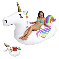 Large Unicorn Inflatable Float