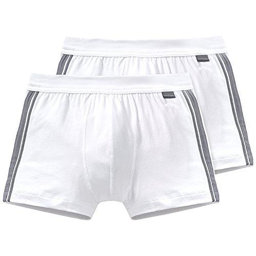 Schiesser Herren Unterhose 2er Pack, Weiß (100-weiss), Medium (Herstellergröße 005)