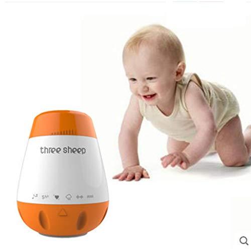 LXQ Sucette Smart Baby Sleep, Machine à Bruit Blanc, Fonction de réveil Automatique, Mobile Rechargeable et Portable de Relaxation.