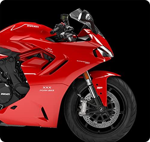 Adhesivos XXX PORN BIKE (8 unidades) para moto, porta casco, scooter, moto,...