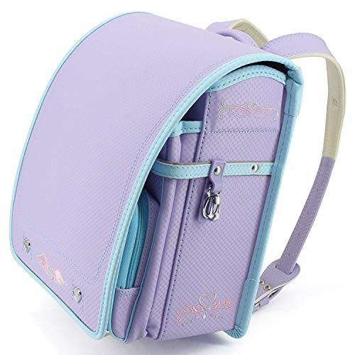 Ransel Randoseru upscale nobility Japanese school bags for girls and boys 2018 new … (purple)