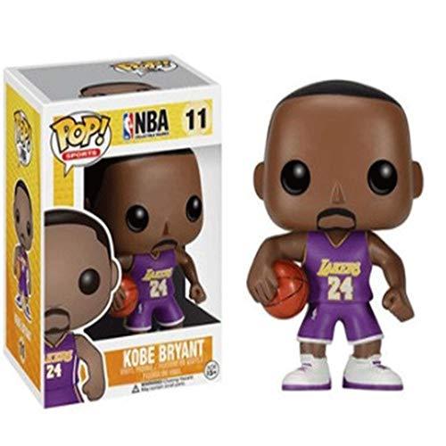 MXXT Funko Pop Sports : NBA - Violet Kobe Bryant Vinyl 3.75inch for Basketball Fans Chibi