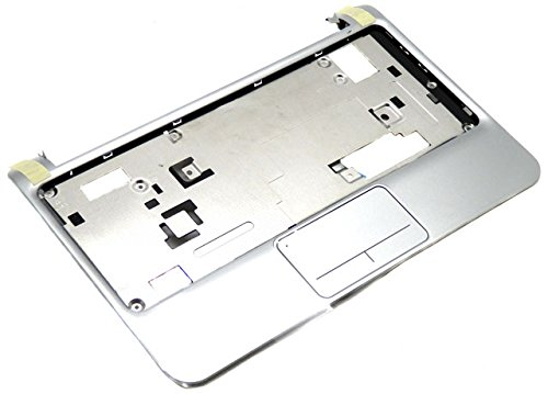 HP Mini 210 Silver Palmrest w Touchpad Assembly 635012-001