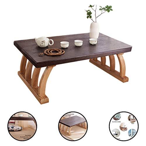 Lapdesks Erkervenster kleine salontafel in Japanse stijl massief hout Tatami tabel balkon vensterbank slaapkamer thuis tafel lage tafel computertafel
