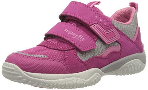 Superfit Mädchen STORM Sneaker, Pink (Rosa/Grau 55), 27 EU