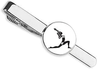 ربطة عنق يوغا الحفاظ على الصحة تمتد المخطط كليب شريط الأعمال رجل الأعمال