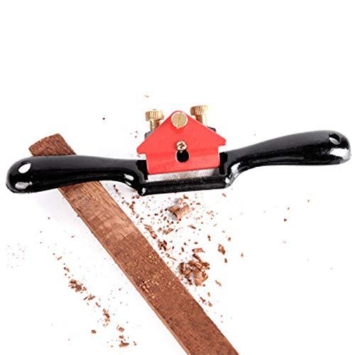 Lavorazione del legno Regolabile Taglio Bordo Ha parlato Farsi la barba pialletto, Spokeshave Regolabile con Base Piatta Mano pialla Cutting Edge Metal Blade Utensili manuali per Legno