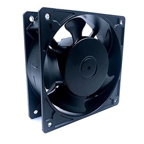 MiaoMiao Ajuste para 1238HA2 220V Resistencia a Alta Temperatura Ventilador Impermeable 120 * 120 * 38mm Service