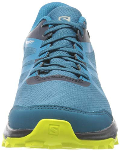 Salomon Trailster 2 GTX Zapatillas Impermeables Trail Running Hombre, Azul (Lyons Blue/Navy Blazer/Evening Primrose), 42 EU
