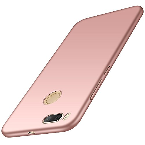 anccer Funda Xiaomi Mi 5X / Xiaomi Mi A1 [Serie Colorida] [Ultra Slim] [Ligera] Anti-rasguños Estuche para Case Xiaomi Mi 5X / Xiaomi Mi A1 (Oro Rosa Liso)