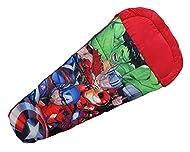 Marvel Avengers Superhero Kids Sleeping Bag Boys Cozy & Warm Lightweight Slumber Bag