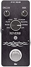 iSET Digital Reverb Guitar Pedal with 9 Modes Guitar Effect Pedal for Electric Guitar Bass True Bypass