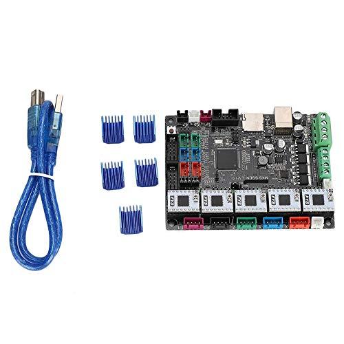 ASHATA Accesorios de la Placa Base de la Impresora 3D MKS SGen-L + TB67S109 57 Controlador del Motor para el módulo A4988, Módulo de Impresora 3D Los Accesorios de la Impresora 3D Pueden admitir