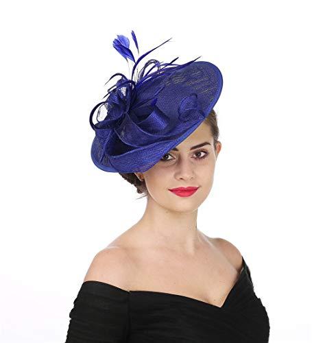 Sinamay Flower Mesh Hat
