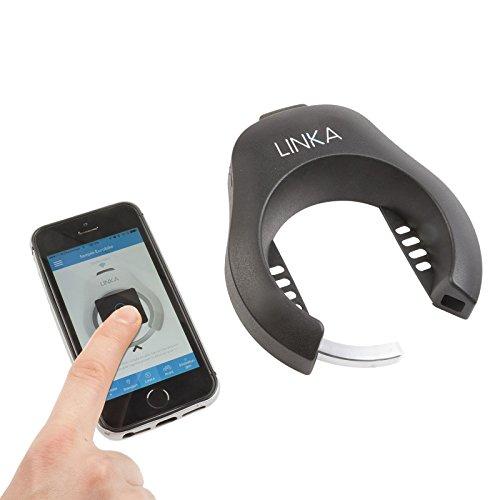 LINKA Bluetooth Fahrradschloss mit Manipulationsalarm (für iPhone und Android)