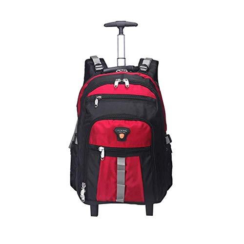 JYTBB Outdoor-product/modieuze laptop-reis-rugzak-hardloopkat, waterdicht, uniseks, voor schoolrugzakken voor werk, keuze uit 6 kleuren 20INCH rood