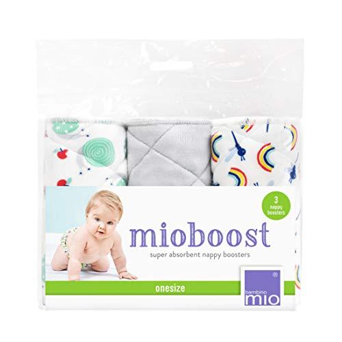 Bambino Mio, mioboost (windeleinlage), 3er packung, schneckenwirbel