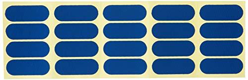 Vise Hada Patch, vorgeschnittenes Klebeband (40 Stück), blau