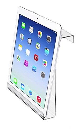Adirsports acrilico universale tapis roulant Bookholder–IPad & tablet–Portariviste 9 x 11 x 2.5 Trasparente