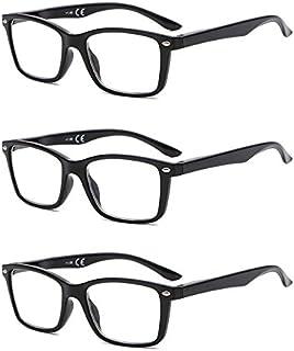 f665887611d268 Suertree Feder Scharnier (3 Pack) Lesebrillen Sehhilfe Augenoptik Brille  Lesehilfe für Damen Herren von