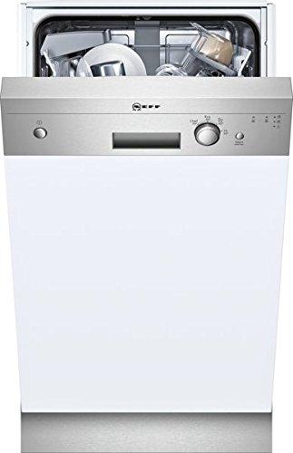 Neff S481C40S0E / GK1400CN / Slimline Geschirrspüler Teilintegriert / A+ / 220 kWh/Jahr / 2380 L/Jahr / DosierAssistent / Wärmetauscher